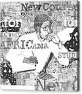 Complex Contemplations Acrylic Print