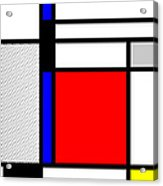 Composition 102 Acrylic Print