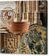 Composition For Poster Xiv Jornadas De Estudios Calagurritanos Acrylic Print