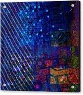 Compute Abstract Acrylic Print