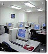 Computer Lab, C1990 Acrylic Print