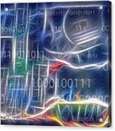 Computing - Fractalius Acrylic Print