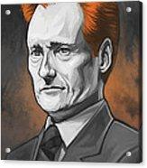 Conan O'brien Artwork Acrylic Print