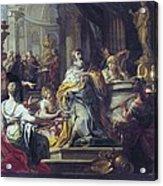 Conca, Sebastiano 1680-1764. The Acrylic Print by Everett
