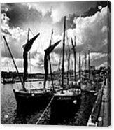 Concarneau Harbour Brittany France Acrylic Print