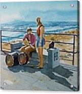Concert In The Sun To An Audience Of One Acrylic Print