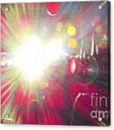 Concert Lights Acrylic Print