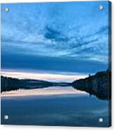 Concord Blue Hour Reflections Acrylic Print