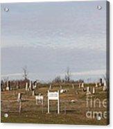 Concord Cemetery Acrylic Print