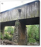 Concord Covered Bridge Acrylic Print