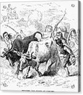 Concord: Evacuation, 1775 Acrylic Print by Granger