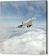 Concorde Legend Acrylic Print by J Biggadike