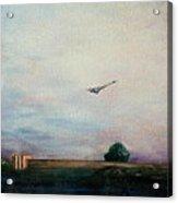 Concorde Over London Acrylic Print