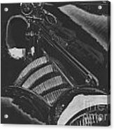 Concours At Dusk 1935 Auburn Speedster Acrylic Print