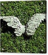 Concrete Angel Acrylic Print