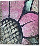 Concrete Flowers Acrylic Print