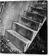 Concrete Steps Acrylic Print