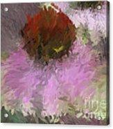 Cone Of Beauty Art Acrylic Print