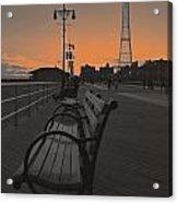 Coney Island Evening Acrylic Print