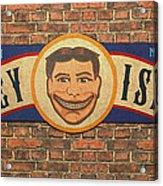 Coney Island Sign Acrylic Print