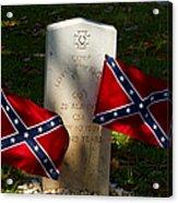 Confederate Grave   #2831 Acrylic Print