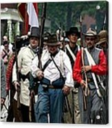 Confederate March Towards The River II Clr Acrylic Print