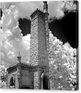 Confederate Resting Place Acrylic Print