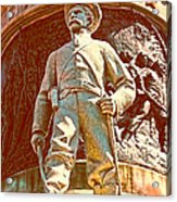 Confederate Soldier Statue I Alabama State Capitol Acrylic Print