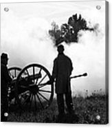 Confederate Twelve Pounder Fired - Perryville Ky Acrylic Print