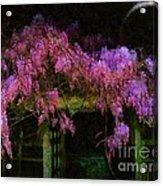 Confetti Of Blossoms Acrylic Print