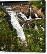 Conglomerate Falls Acrylic Print by Thomas Pettengill