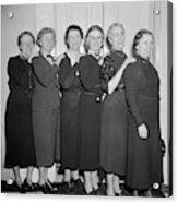 Congresswomen, 1938 Acrylic Print