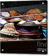 Conical Hats 01 Acrylic Print