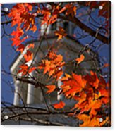 Connecticut Fall Colors Acrylic Print by Jeff Folger
