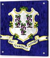 Connecticut Flag Acrylic Print