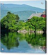 Connecticut River Farm II Acrylic Print