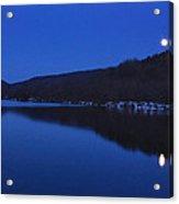 Connecticut River Moon Acrylic Print