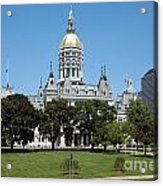 Connecticut State Capitol Hartford Acrylic Print