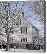Connecticut Winter Acrylic Print