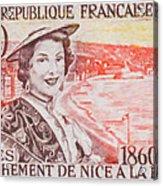 Connecting The Nice France 1860-1960 Acrylic Print