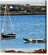 Connemara Boats Acrylic Print