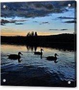 Conneticut Lake Acrylic Print