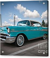 conrictrice 56 Chevy Acrylic Print