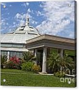 Conservatory At The Huntington Library Acrylic Print