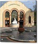 Conservatory Gardens Sunny Facade Acrylic Print