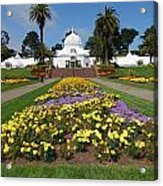 Conservatory Of Flowers Acrylic Print