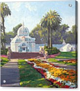 Conservatory Of Flowers - Golden Gate Park Acrylic Print