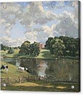 Constable's Wivenhoe Park In Essex Acrylic Print