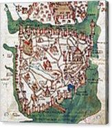 Constantinople, 1420 Acrylic Print