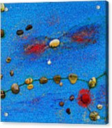 Constellation Of Pisces Acrylic Print